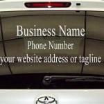 vehicle signage, windows, san diego printing