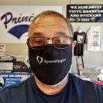 san diego, fask mask printing