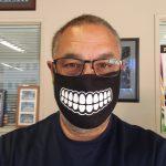 san diego, custom printed facemaks